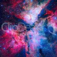 The spectacular star forming Carina Nebula or Grand Nebula.