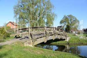 Brücke über die Alte Dreisam in Eichstetten am Kaiserstuhl