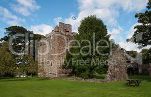Old scotish castle