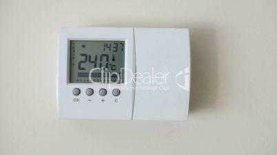Smart house control panel