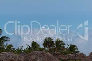 Cloudscape on the beach of Varadero Cuba