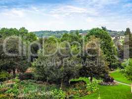 HDR Parade Gardens in Bath