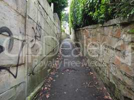 Stairway to Alexandra Park in Bath