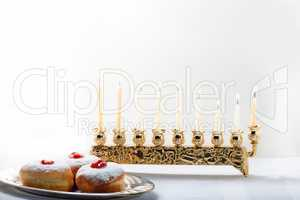 Sufganiyot for Hanukkah