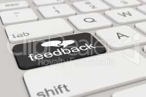 3d - keyboard - feedback - black