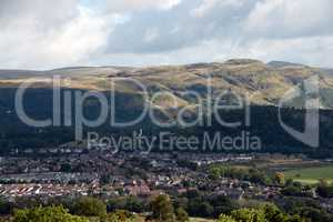 View to the wallace monument