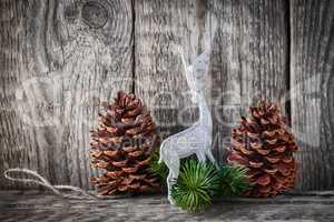 Home decor pine cones