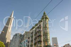 Transamerica Pyramid and Coppola Building