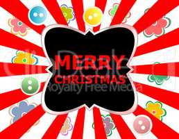 Merry christmas card design. creative concept background for Web and Mobile Applications, Happy New Year. business infographic, page, banner.
