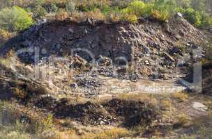 unused stone quarry