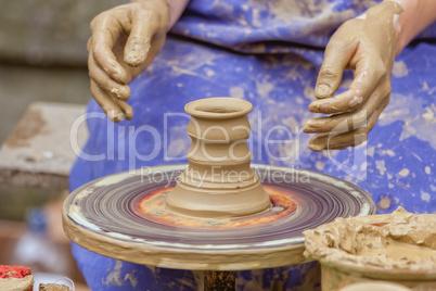 Preparing the pot is interesting profession