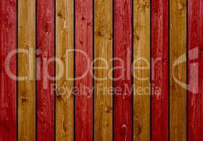 Holzbretter Hintergrund braun rot