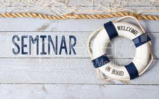Seminar - Welcome on Board