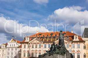 Blick auf die Stadt Prag