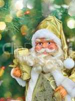 Christmas Santa Claus with a big white beard