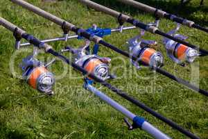 Feeder - English fishing tackle for catching fish.