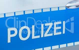 Polizei im Polizeieinsatz in Hamburg