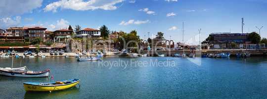 Harbor of the old town Nesebar