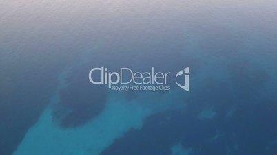 Sunrise Castle marina aerial yacht Turkish flag drone shot business boat harbor luxury tourism coastline travel