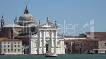 Palace Or Government Building In Venice Italy