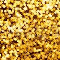 Goldene Lichtpunkte,Effekt,blurred