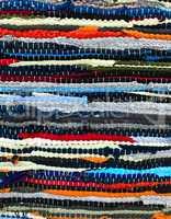 Handmade Patchwork rug texture background
