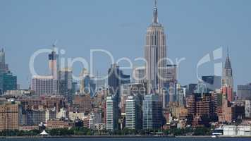 Empire State Building And Midtown Manhattan Nyc