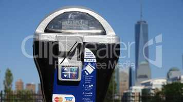 Parking Meter And Freedom Tower