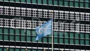 Un Flag At Un Headquarters