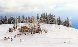 Wintersport in der Schweiz