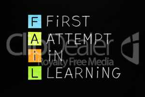 FAIL First Attempt In Learning