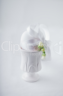 Easter Time on white background
