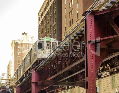 Chicago elevated Subway