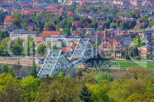 Dresden Blaues Wunder - Dresden Blue Wonder  bridge