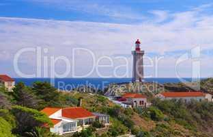 Leuchtturm Cap Bear  in der Nähe Collioure- lighthouse Cap Bear near Collioure