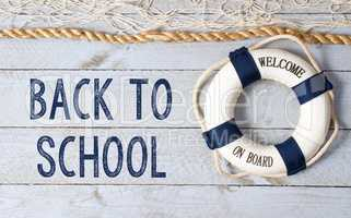 Back to School - welcome on board