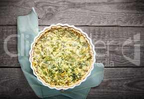 Spinache quiche, gluten free