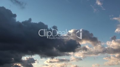 Morning Epic Timelapse Clouds Background