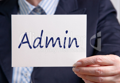 Admin Administration Department