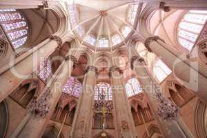 Le Mans St-Julien Cathedral Choir Vaults