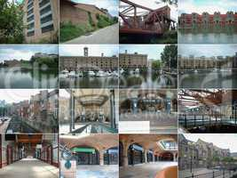 16 views of London docklands
