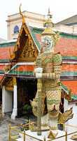 Giant in Wat Phra Kaeo, The Royal Grand Palace - Bangkok, Thaila