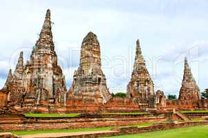 Wat Chaiwatthanaram Temple. Ayutthaya Historical Park, Thailand.
