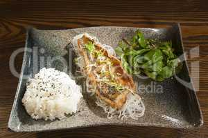 Fried fish in the Asian