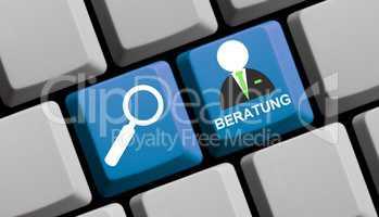 Beratung suchen und finden online