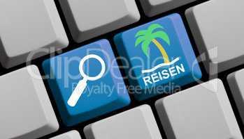 Reisen suchen und finden online