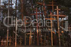 Russian Orthodox graveyard
