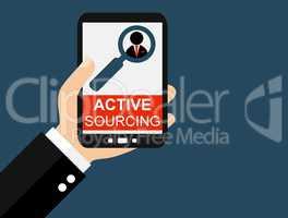 Active Sourcing auf dem Smartphone
