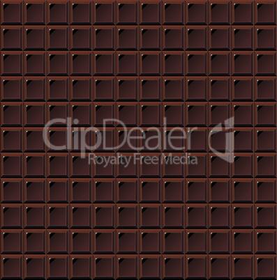 Chocolate seamless milk vector handmade, bio food background