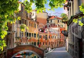 Old venetian houses